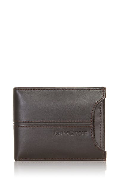 Swissgear Delmont Bifold Wallet with Card Case Slide-Out