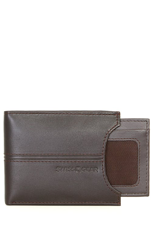 SWISSGEAR Delmont Bifold Wallet with Slide-Out
