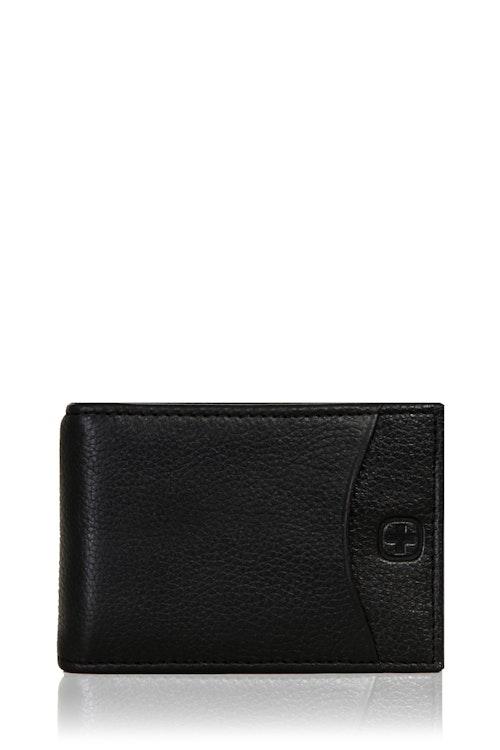 SWISSGEAR Basal Money Clip Bifold Card Wallet - Black