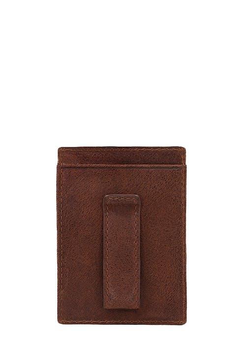 SWISSGEAR Brig Money Clip Card Wallet 3 card slots and 2 slip pockets