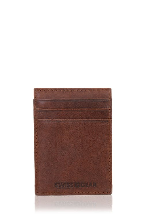 SWISSGEAR Brig Money Clip Card Wallet