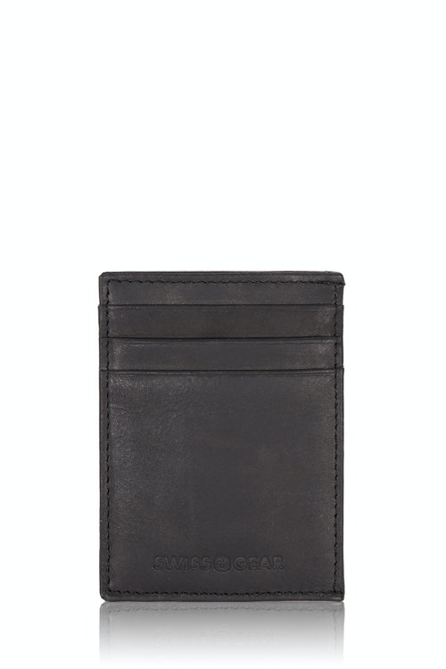 SWISSGEAR Lugano Money Clip Card Wallet - Black