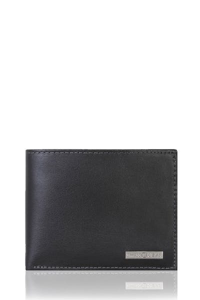 SWISSGEAR Lucerne Bifold Wallet with Removable Card Case - Black