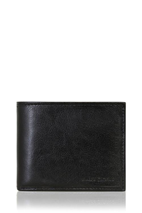 SWISSGEAR Ticino Extra Capacity Bifold Wallet - Black