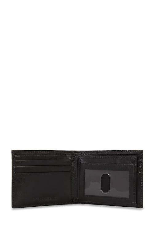 SWISSGEAR Ticino Extra Capacity Bifold Wallet 9 CARD SLOT WITH THUMB GRIP ID WINDOW