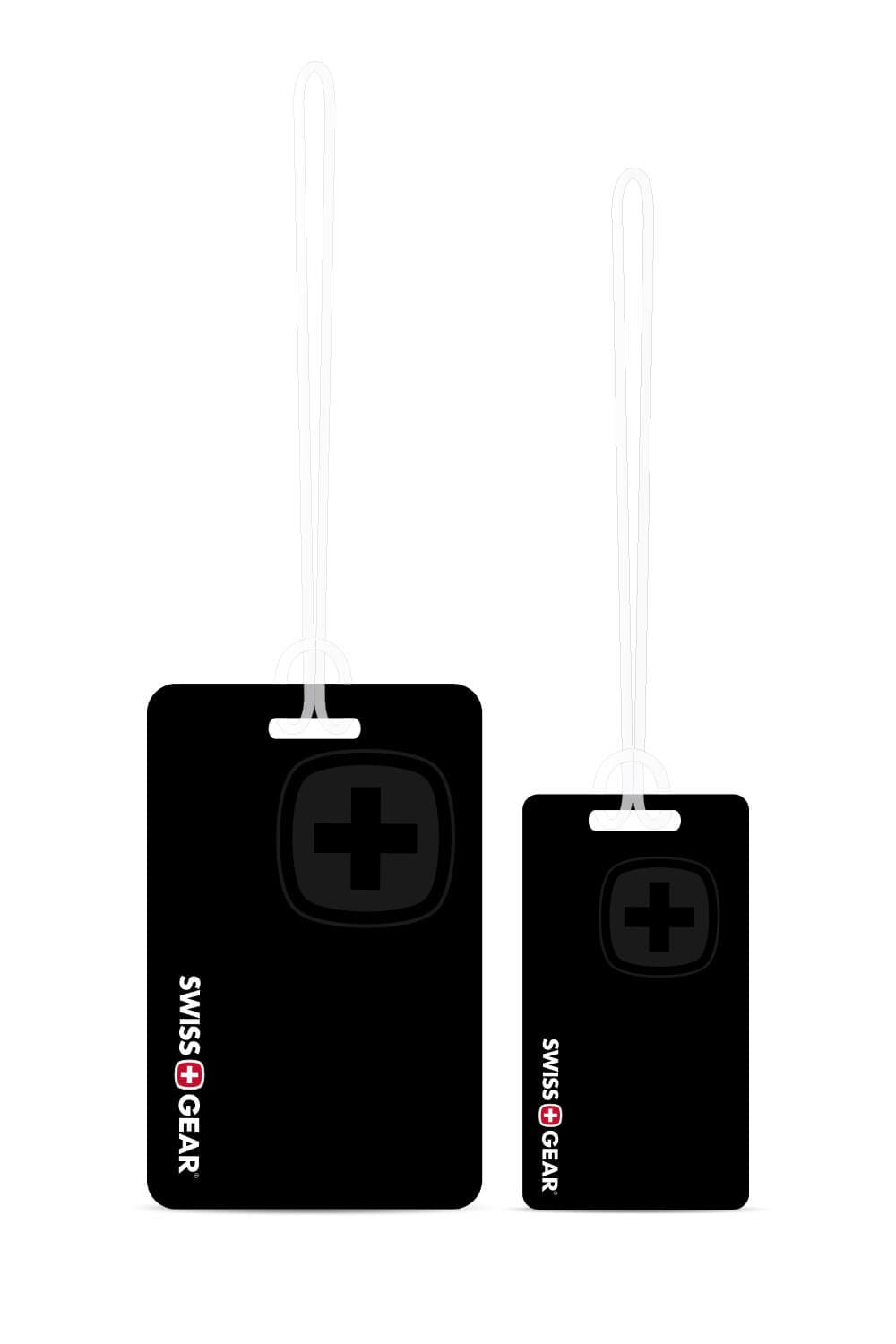 Swissgear Personalized Luggage Tag Set - Black/White