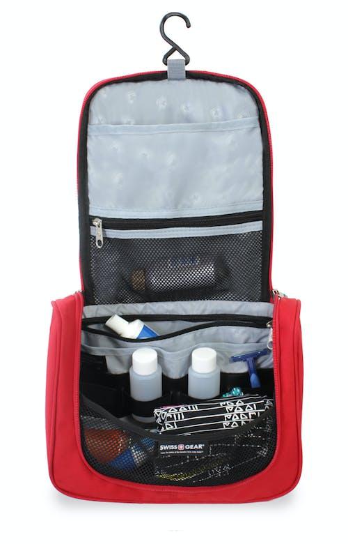 Swissgear 2310 Hanging Toiletry Kit Multiple Slip Zip Pockets