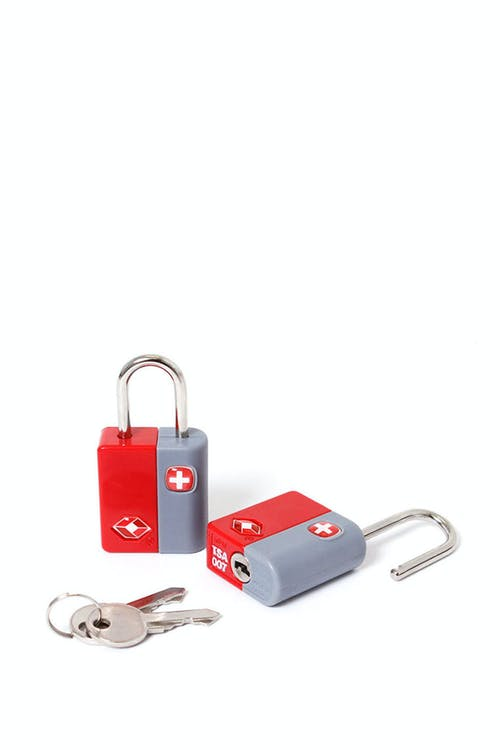 SWISSGEAR TSA KEY LOCK TWIN PACK - RED