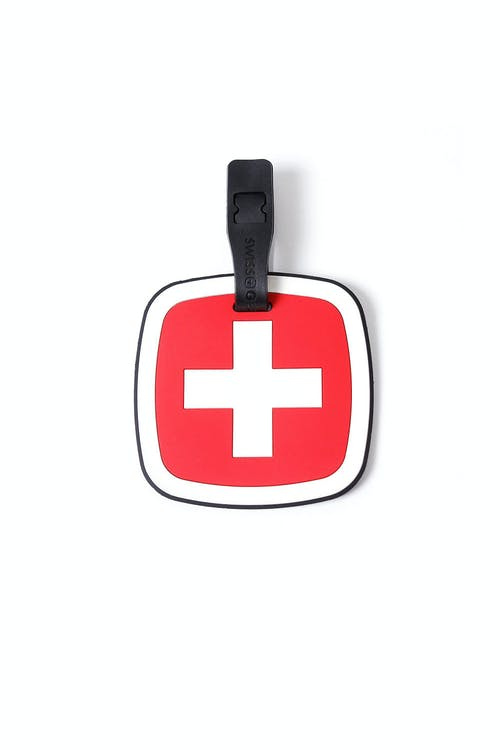 SWISSGEAR JUMBO CROSS LUGGAGE TAG - FRONT