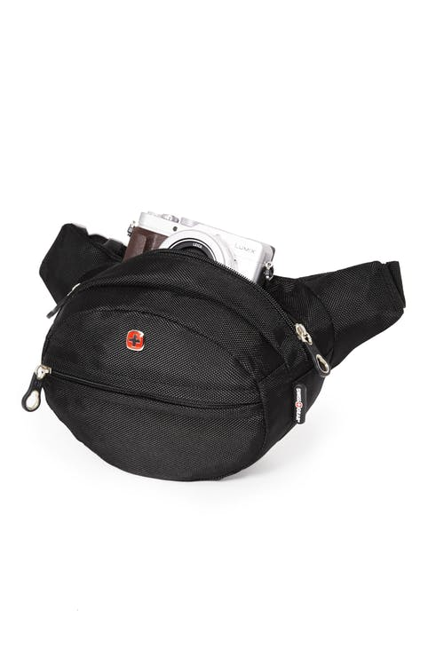 Swissgear 0374 Waist Bag with RFID  Roomy main compartment