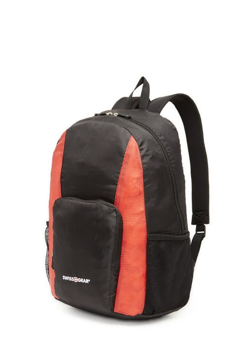 Swissgear 0407 Collapsible Backpack - Black/Red