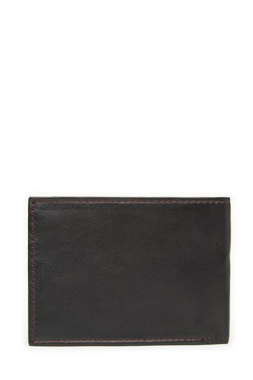 Swissgear 66105 Leather Billfold Wallet with RFID Shield RFID-blocking lining