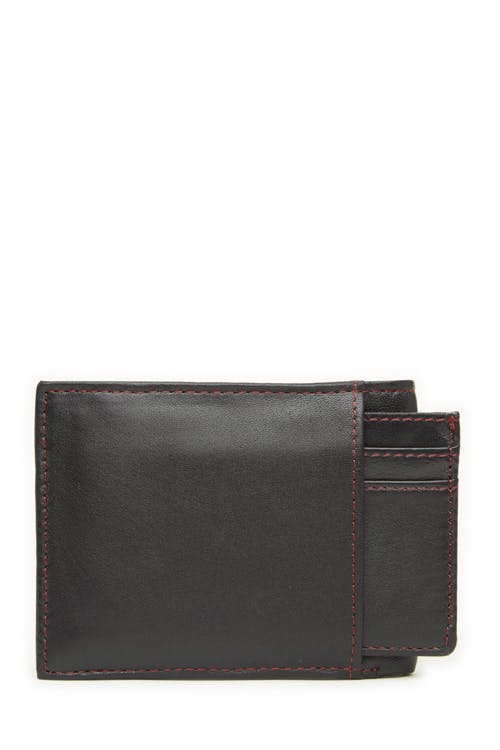 Swissgear 66152 Leather Billfold Wallet with RFID Shield and Removable ID Case Features 2 ID windows