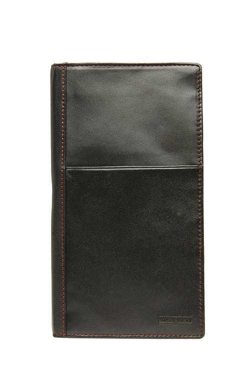 Swissgear 66901 Leather RFID Passport Holder  RFID-blocking lining