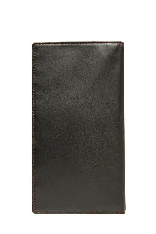 Swissgear 66901 Leather RFID Passport Holder - Black