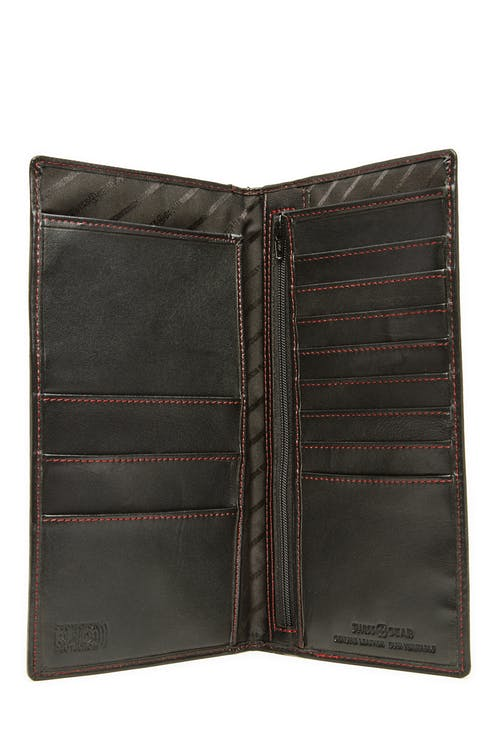 Swissgear 66901 Leather RFID Passport Holder  Multiple card slots