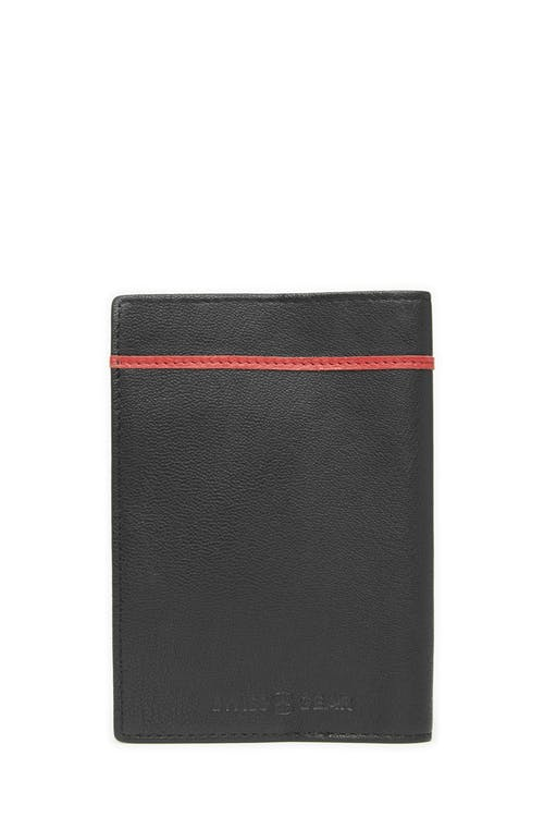 Swissgear 66914 Leather RFID Passport Holder  RFID-blocking lining