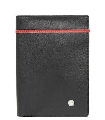 SWISSGEAR 66914 LEATHER RFID PASSPORT HOLDER - BLACK
