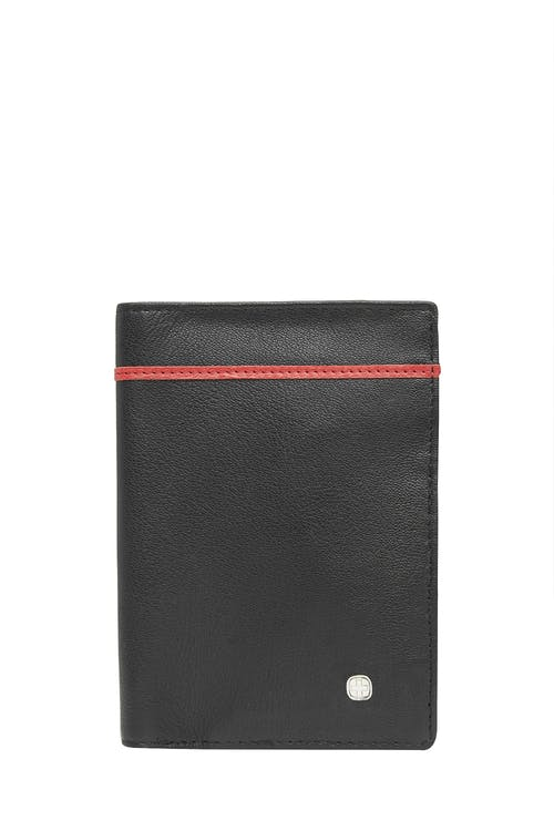 Swissgear 66914 Leather RFID Passport Holder - Black