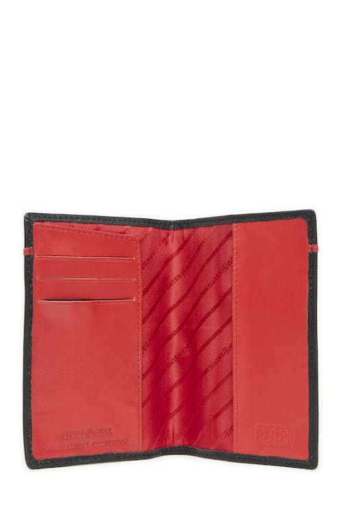 Swissgear 66914 Leather RFID Passport Holder  3 card slots