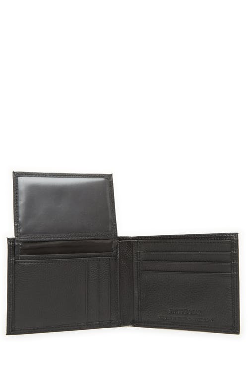 Swissgear 62135 Leather Billfold Wallet with Removable ID Flap Removeable ID flap
