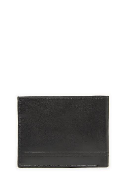Swissgear 63134 Embossed Double-Strip Billfold Wallet Smooth leather