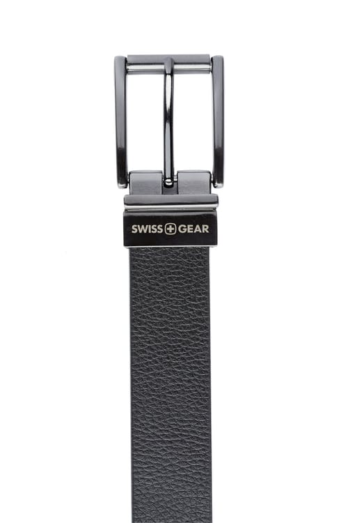 Swissgear Reversible Dress Belt - Black Side