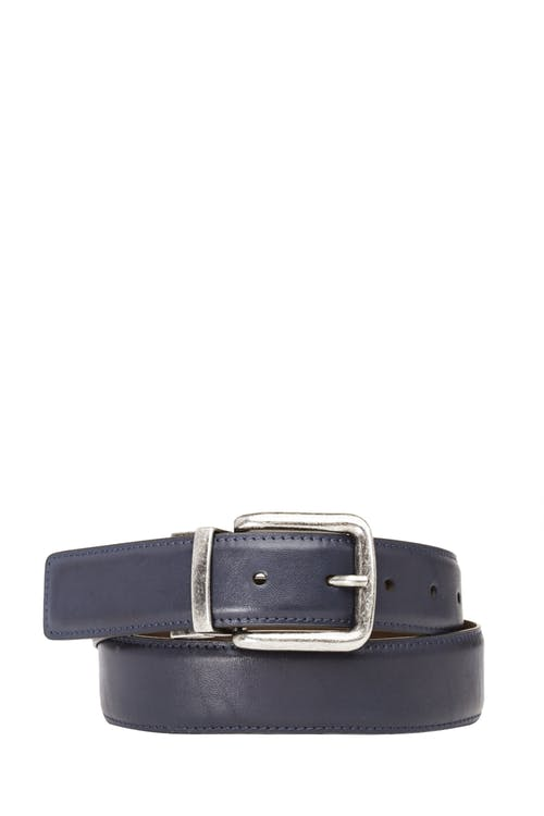 Swissgear Reversible Casual Belt - Brown/Blue