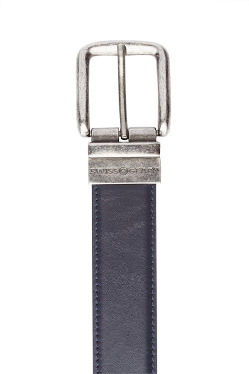 Swissgear Reversible Casual Belt - Blue Side