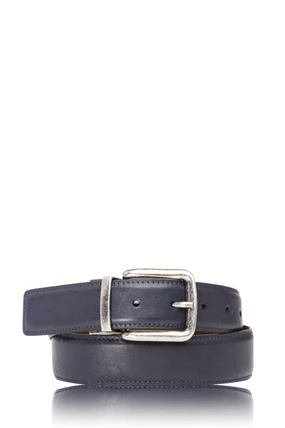 Swissgear Reversible Casual Belt - Brown/Blue