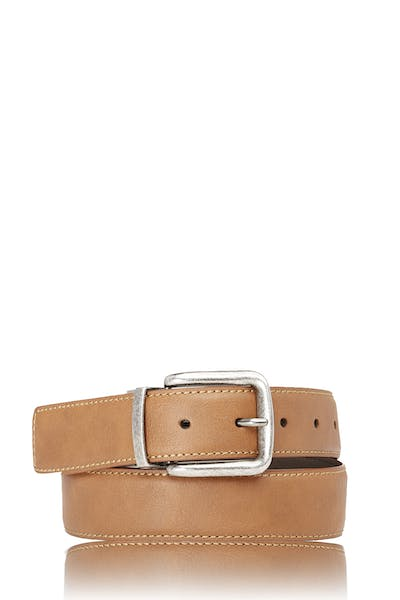 Swissgear Reversible Casual Belt - Tan/Dark Brown
