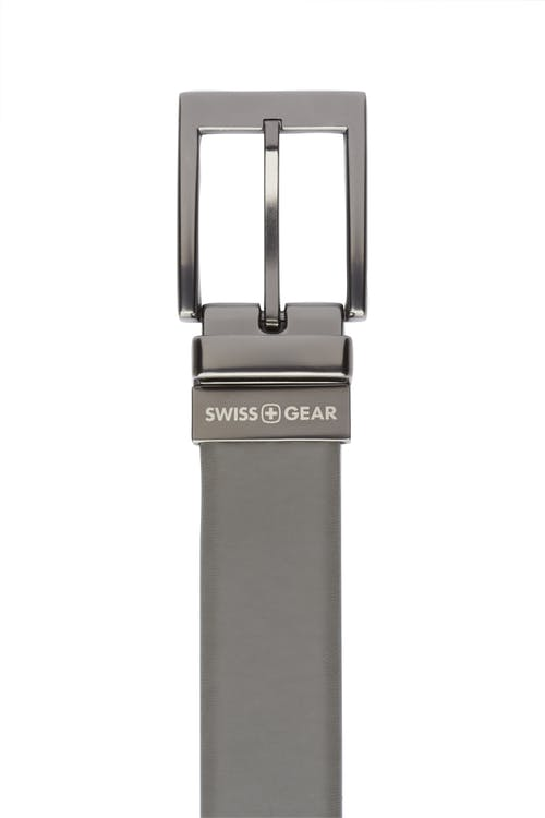 Swissgear Reversible Dress Belt - Dark Grey Side