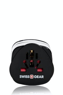 Swissgear Grounded Adaptor Plug NA/SA - Black