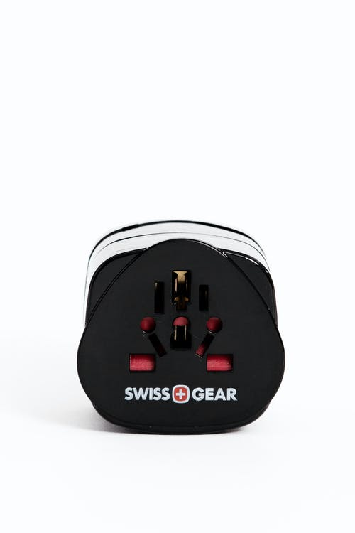 Swissgear Worldwide Adaptor Plug Set - Black