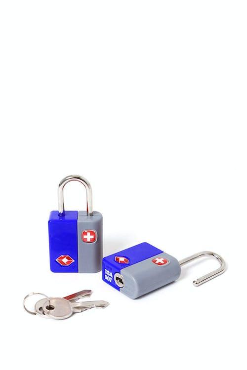 SWISSGEAR TSA KEY LOCK TWIN PACK - BLUE