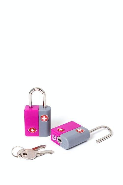 SWISSGEAR TSA KEY LOCK TWIN PACK - PINK