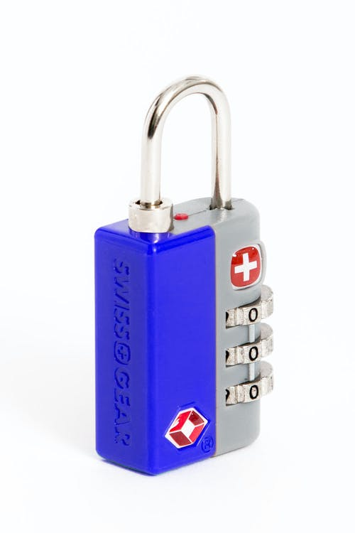 Swissgear Travel Sentry 3-Dial Combination Lock - Blue