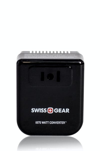 SWISSGEAR Converter / Adaptor Plug Kit w/ Pouch - Black